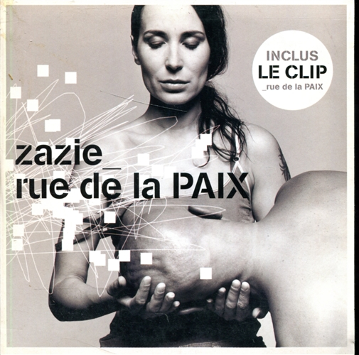 Zazie - Rue de la paix - CD single