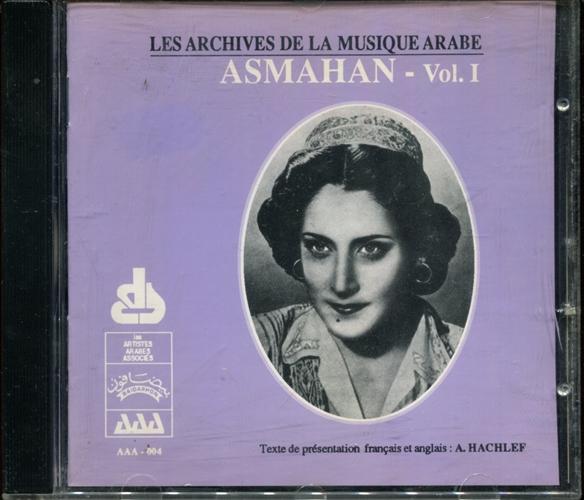 ASMAHAN - Les Archives De La Musique Arabe Vol.I - CD