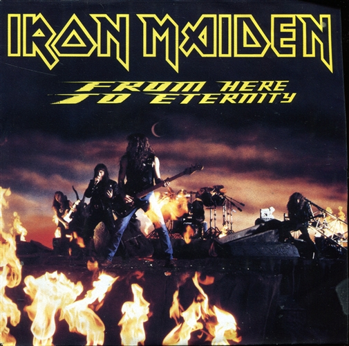 Iron Maiden - From Here To Eternity - 7inch