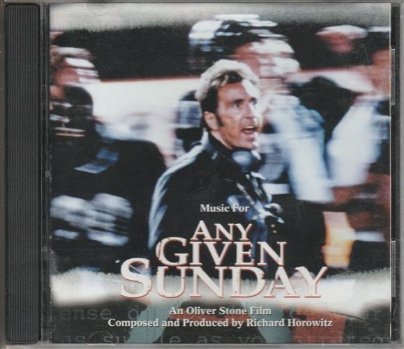 RICHARD HOROWITZ - Any Given Sunday - CD