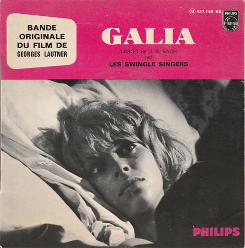 MICHEL MAGNE - LES SWINGLE SINGERS - Galia - 45T x 1