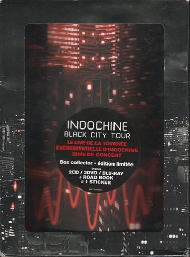 INDOCHINE - Black City Tour - CD