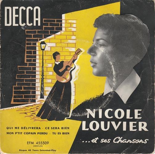 NICOLE LOUVIER - ..Et Ses Chansons - 45T x 1