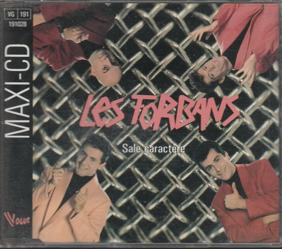 LES FORBANS - Sale Caractère - CD Maxi