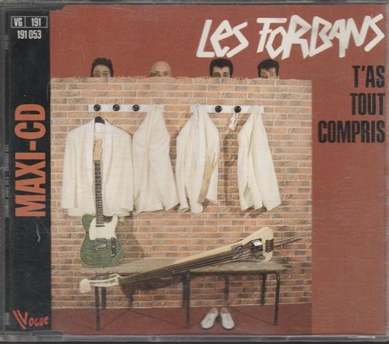 LES FORBANS - T'as Tout Compris - CD Maxi