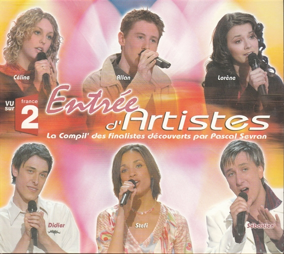 VARIOUS - Entrée D'artistes - CD