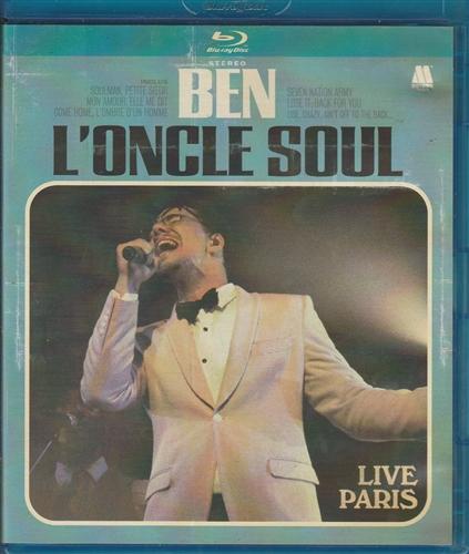 BEN L'ONCLE SOUL - Live Paris - DVD