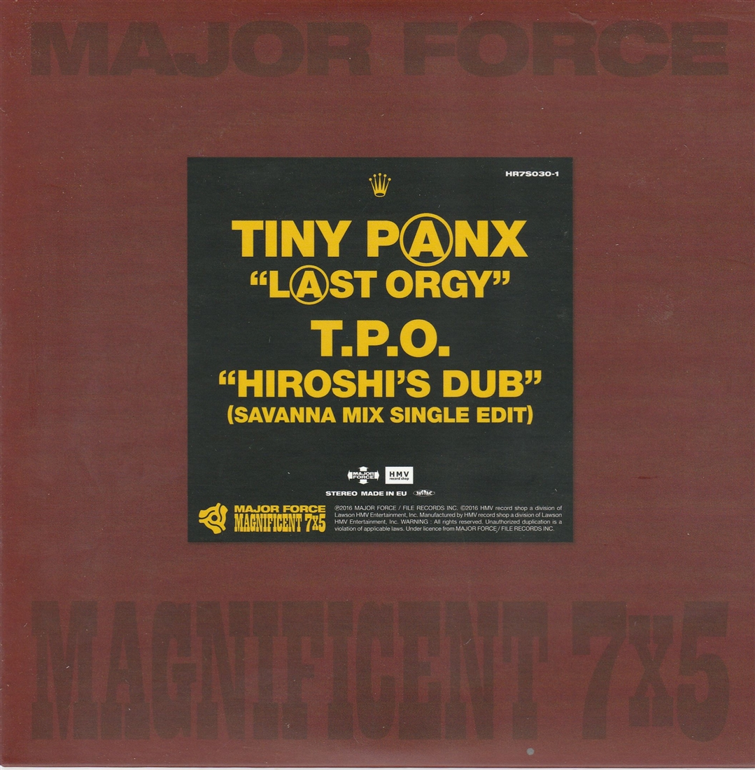 VARIOUS - Major Force Maginificent 7x5 - 7inch x 1