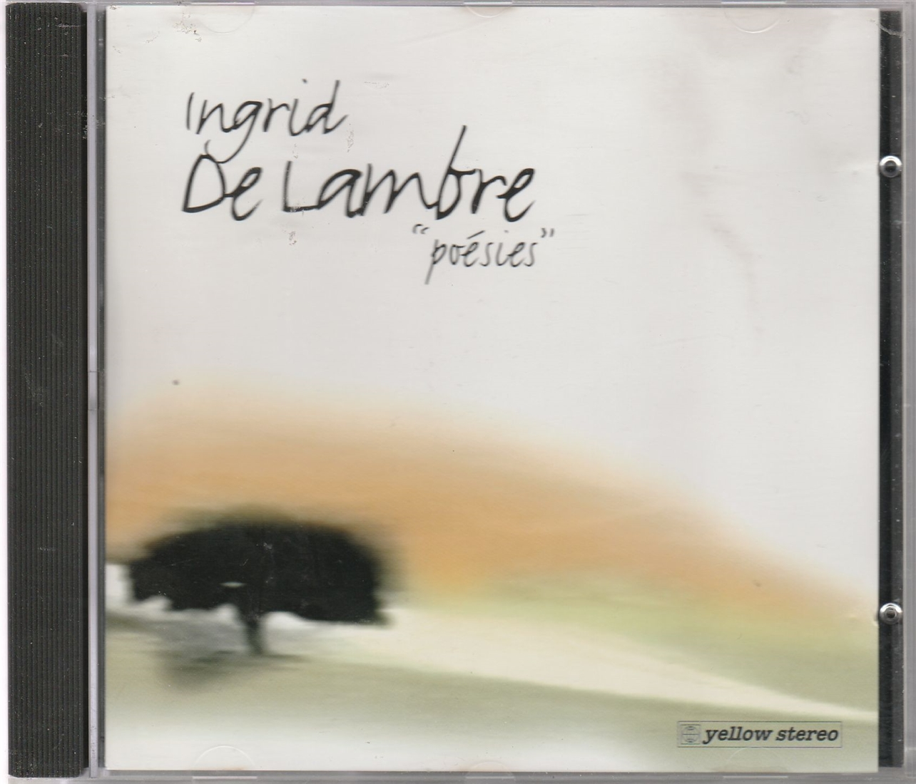 INGRID DE LAMBRE - Poésies - CD Maxi